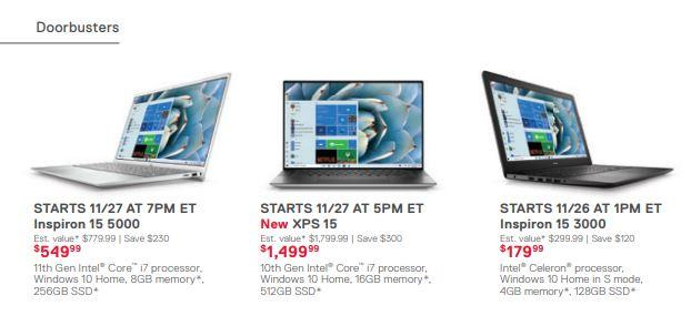 Dell Reveals Black Friday Cyber Monday Deals Weeks Ahead Of Schedule Mr Tech News